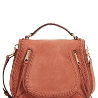 Rebecca Minkoff Vanity Nubuck Leather Saddle Bag | Nordstrom