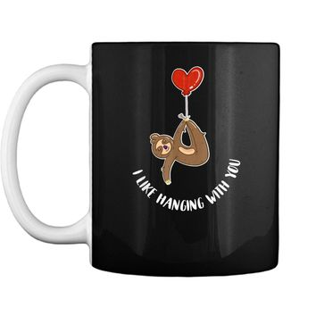 Valentine's Day Sloth Gift  Teenage Girls Couples Tween Mug