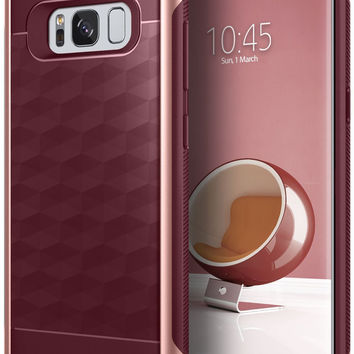 Galaxy S8 Plus Case Slim Fit Dual Layer Drop Protection Modern Grip