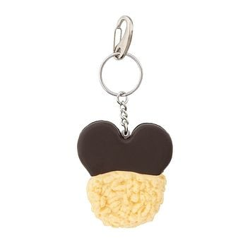 Disney Parks Mickey Mouse Crispy Treat Keychain New with Tags