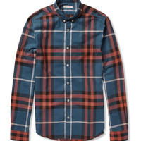 PRODUCT - Burberry Brit - Plaid Cotton Shirt - 373782 | MR PORTER