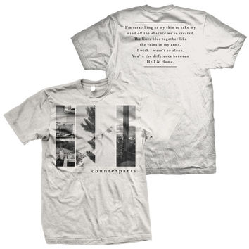Counterparts - The Difference Between Hell And Home T-Shirt
