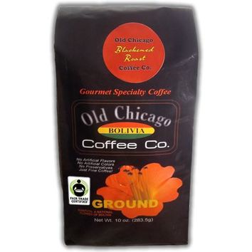 "Bolivia Dark Roast ""Blackened""  Coffee Ground by Old Chicago Coffee Co"