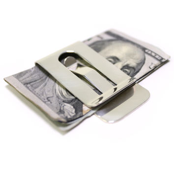 Personalized Pure Sterling Silver Money Clip