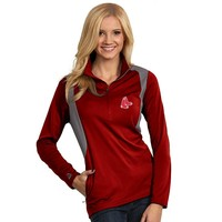 Antigua Boston Red Sox Delta 1/4-Zip Pullover - Women's, Size: X LARGE