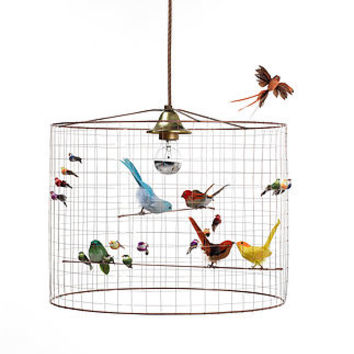 Best bird chandelier products on wanelo bird cage chandelier aloadofball Gallery