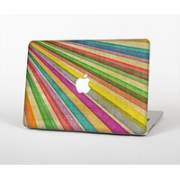 "The Vintage Downward Ray of Colors Skin Set for the Apple MacBook Pro 13"" with Retina Display"