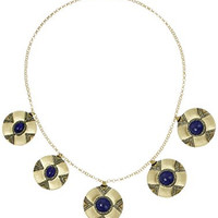 "House of Harlow 1960 Dorelia Coin Statement Necklace, 16"" + 2"" Extender"