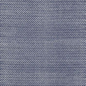Dash & Albert Herringbone Rug, Size 2x3 - Blue