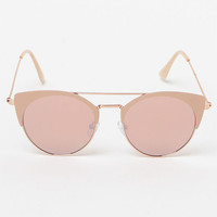 LA Hearts Top Bar Cat Eye Sunglasses at PacSun.com