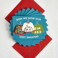 Quirky Warm Follows Function Notecard Set by ModCloth