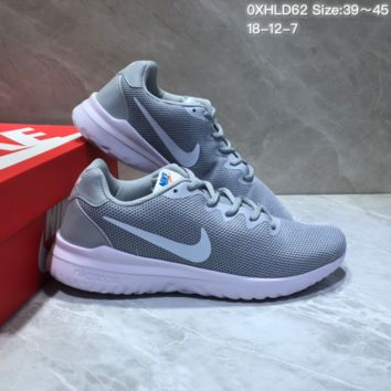 KUYOU N851 Nike Odyssey React Comfortable Running Shoes Grey