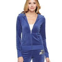 Logo Jc Laurel Velour Original Jacket by Juicy Couture