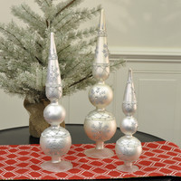 Jeweled Table Finial - Large 20""