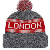 Pom Pom London Beanie