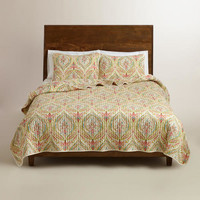 Watercolor Ogee Bedding Collection