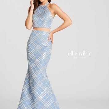 Ellie Wilde EW118064- Ice Blue
