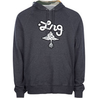 Lrg Core Mens Hoodie Heather Black  In Sizes