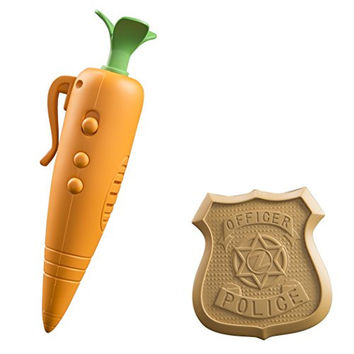 Zootopia Judy's Carrot Recorder And Badge