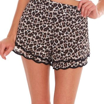 Smokin' Hot Shorts - Animal Print