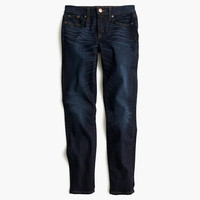 J.Crew Womens Toothpick Jean In Flint Wash