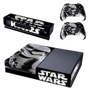Vanknight Vinyl Decal Skin Sticker Cover Star Wars Battlefront Stormtroopers for Xbox One Console Kinect 2 Controllers