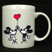 Happy Valentines Day Disney mickey minnie mouse For Ceramic Mugs Coffee ***