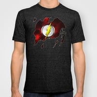 365 days of superheroes - Day 7: Flash T-shirt by Sberla