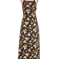 Motel Vintage Inspired Long Spaghetti Straps Maxi Freshly Picked Flair Dress