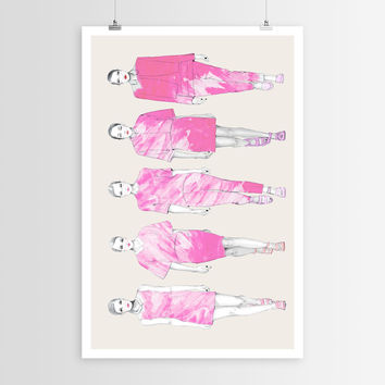 Sara Eshak's Wednesdays We Wear Pink POSTER