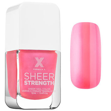 Sheer Strength – Treatment Nail Polish - Formula X | Sephora