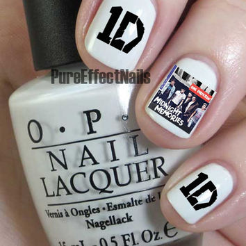 Midnight Memories Album Cover Nail Decals