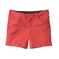 Patagonia Quandry 5 Inch Shorts- Shock Pink