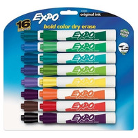 Sanford Ink Corporation Dry-erase Marker,Nontoxic,Chisel Point,16/ST,Assorted
