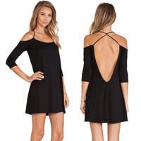 New Fashion Summer Sexy Women Dress Casual Dress for Party and Date = 4432075012 = 4432075012