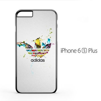 Adidas Colorful Logo Splash iPhone 6s Plus Case