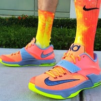 Fire GALAXY Customized Nike Elite Socks!!