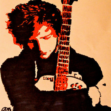 Ed Sheeran pop art by AndreaMelissaa on Etsy