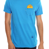 Adventure Time Jake In Pocket T-Shirt | Hot Topic