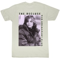 Breakfast Club - Mens The Goth T-Shirt In Vintage White