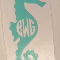 Monogrammed Decal