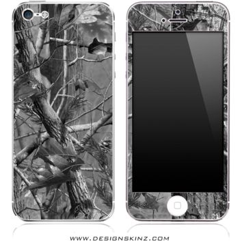 Black & White Camo iPhone Skin
