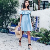 Cali Denim Dress