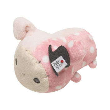 San-X Characters Mochi Pettan Handful Plush Doll Cleaner Mascot  (Sentimental Circus Series / Shappo)