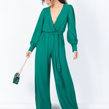 Weekend Vibes Chiffon Jumpsuit