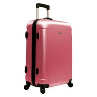 "Traveler's Choice 25"" Freedom Hardshell Spinner Upright - Dusty Rose"