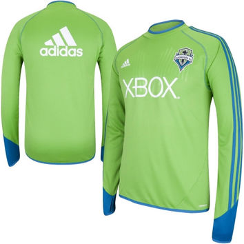adidas Seattle Sounders FC Training Jersey - Rave Green