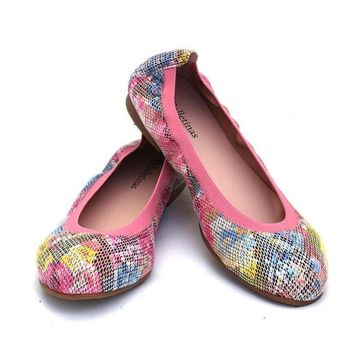 Syna Pink Flat Shoe