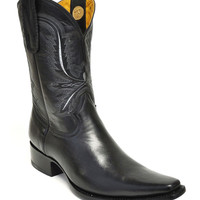Gavel Handcrafted Spanish Toe Collection Goatskin Cowboy Boots