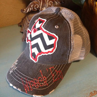 Texas Tech Red Raiders State Baseball Bling Ladies by chasingelly
